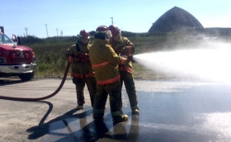 Rookie firefighters ready to roll out