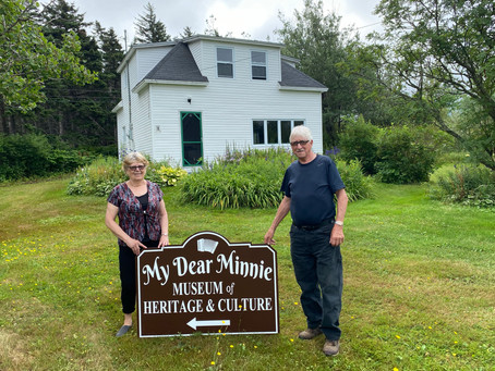 Minnie White's home becomes museum