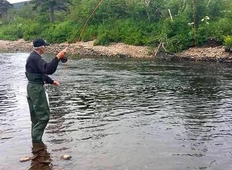 No trout about it