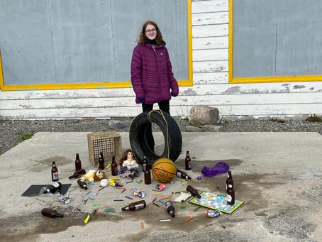 Adolescent alcoholism inspires young artist