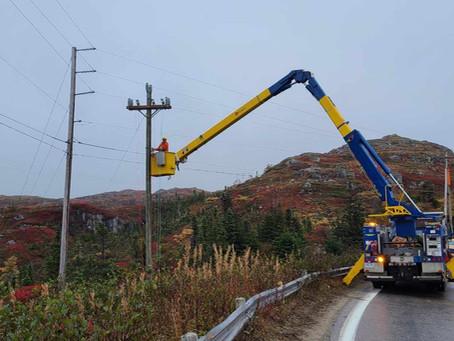 Granite Coast gets new power poles
