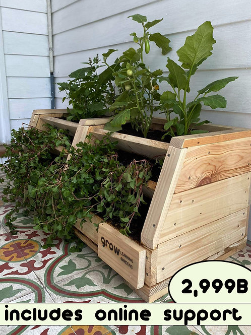 Grow's homemade learning single planter