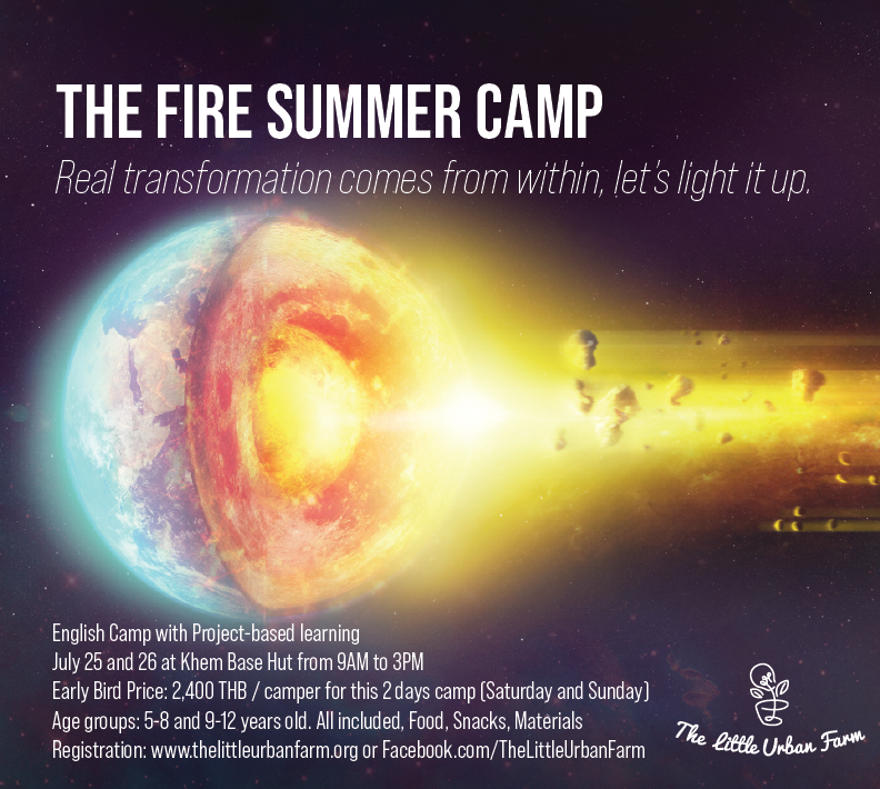 The Four Elements Summer Camp - Fire