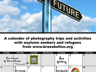 Past Present and Future - a calender of photography days and activities