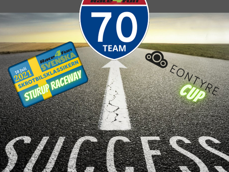70! Sjuttio Startande Team på Sturup Raceway