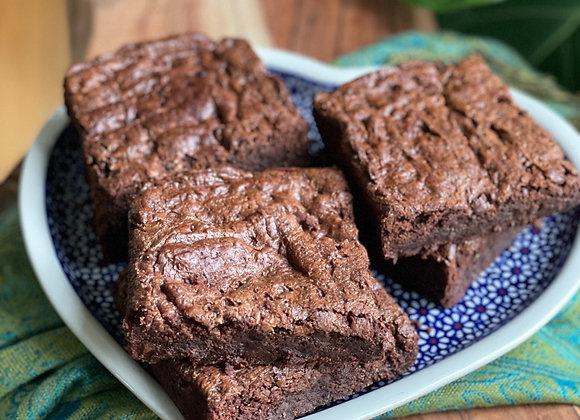 supersize fudgy brownies