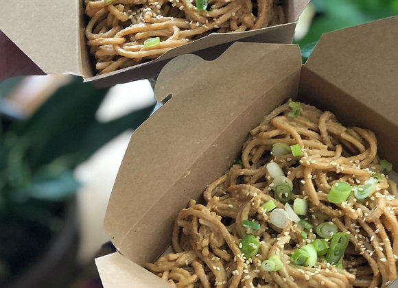 cold takeout noodles