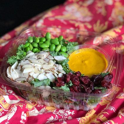 ginger rainbow salad