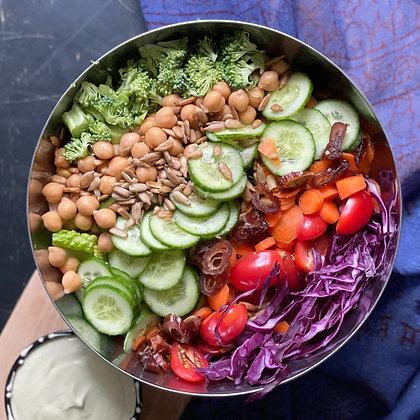 rainbow goddess salad