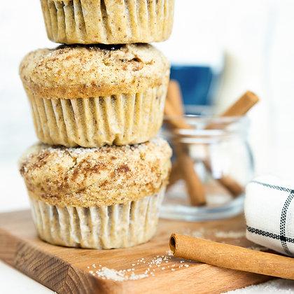 cinnamon sugar muffin from muffhens