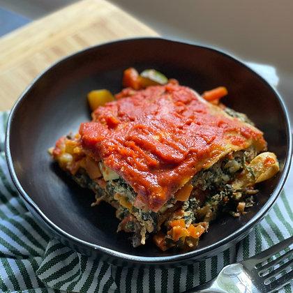 veggie overload lasagna