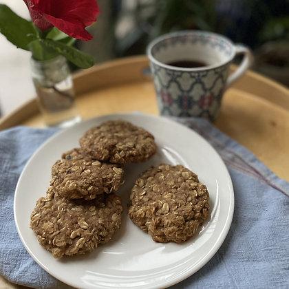 banana walnut breakfast cookies