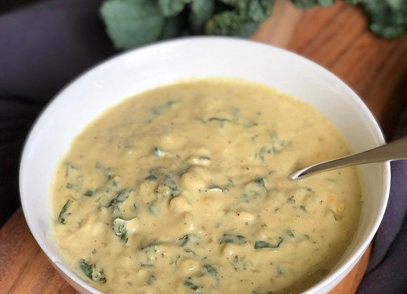 potato kale chowder