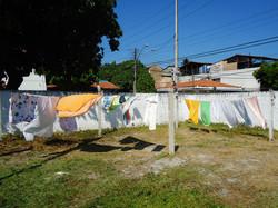 Dia-a-dia: Lavadeiras no tanque