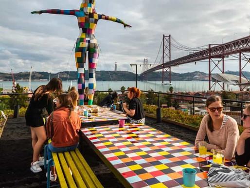 LX Factory Lisboa. El barrio más alternativo de la capital lusa.