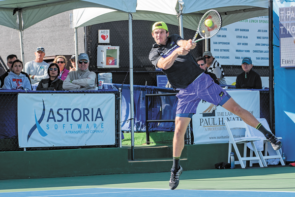 Top-seeded American Paul clinches Tiburon  Challenger tennis title