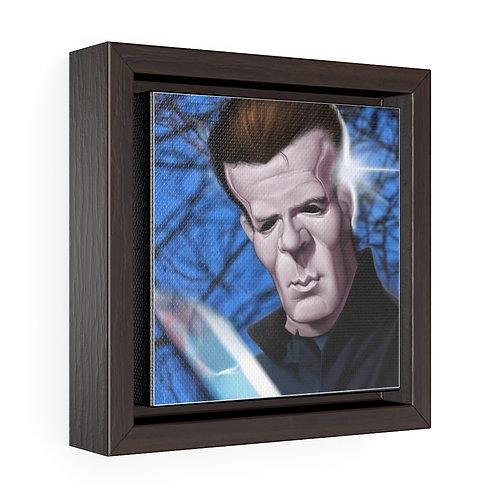 Bulman Pop-scene - Halloween - Square Framed Premium Gallery Wrap Canvas