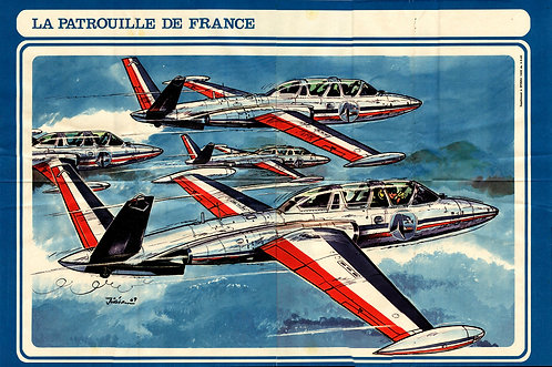 1638   Patrouille de France  Jean–Luc 1969