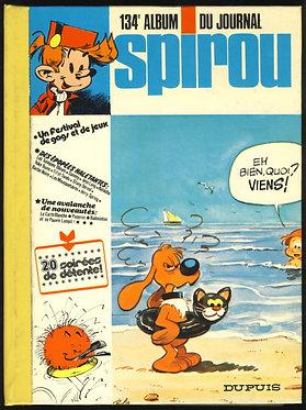 134 Journal de Spirou recueil