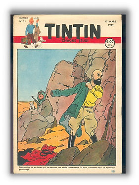 TINTIN 1949 n° 11