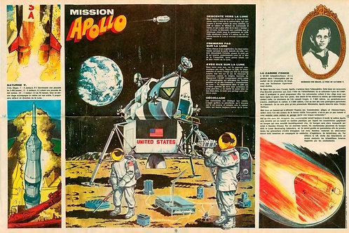 1631   Mission Apollo J-L Beghin 1969