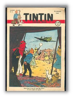 TINTIN 1949 n° 3