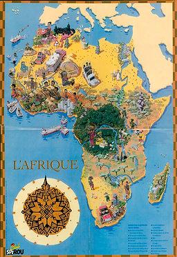 3146  L'atlas de Ludo Europe et l'Afrique  1998