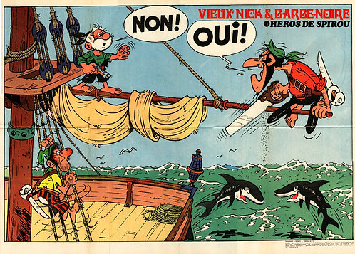 1840 Vieux Nick et Barbe–Noire Remacle1973