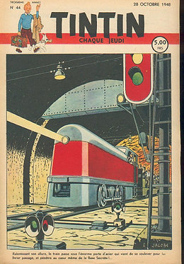 TINTIN 1948 n° 44