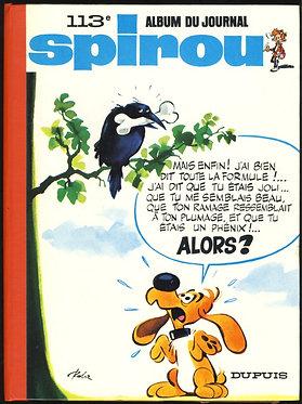 113 Journal de Spirou recueil