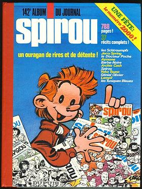 142 Journal de Spirou recueil