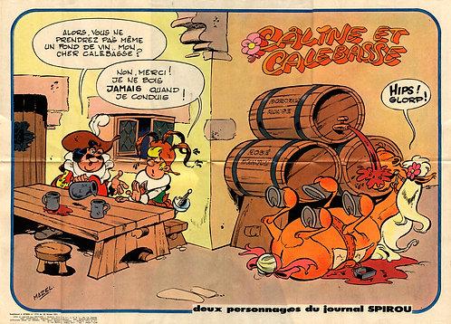1715 Câline et Calebasse Mazel 1971