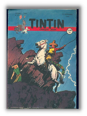 TINTIN 1949 n° 37