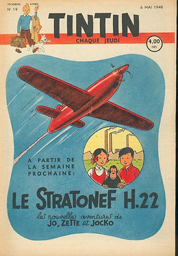 TINTIN 1948 n° 19