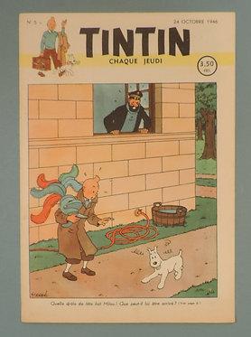 Tintin 1946 n° 5