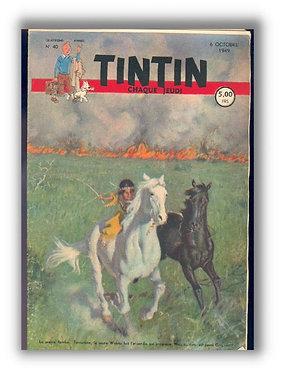 TINTIN 1949 n° 40
