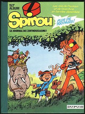 153 Journal de Spirou recueil