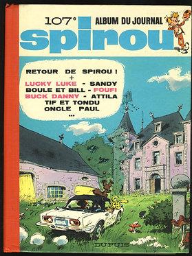 107 Journal de Spirou recueil