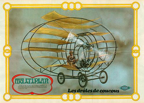 2201 Drôles de coucous Devos + Excalibur III  Jidéhem 1980