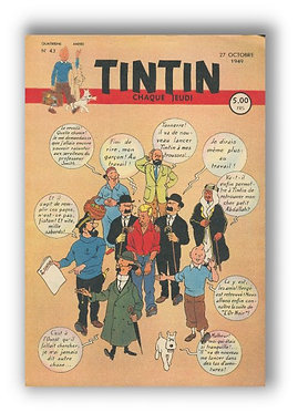 TINTIN 1949 n° 43