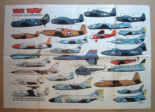 2004 Avions Buck Danny Hubinon + Wasterlain 1976