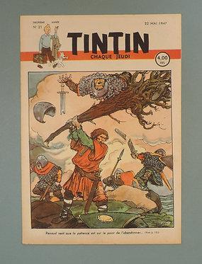 Tintin 1947 n° 21