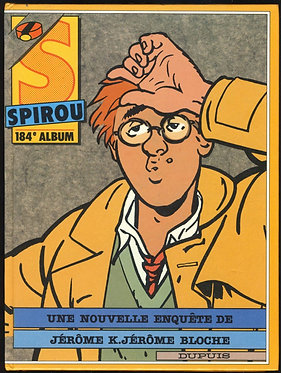 184 Journal de Spirou recueil