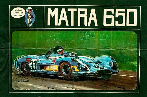 1634   Matra 650  Jidéhem 1969
