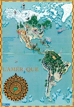 3150   L'atlas de Ludo Amerique et Asie 1998