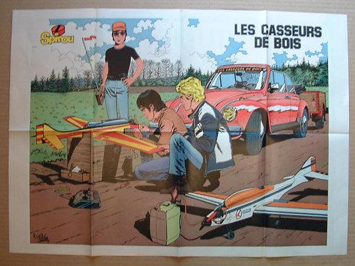 2299 Les casseurs de bois Carin Piroton + Triumph TR2 Jidehem 1982