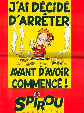 2720   Petit Spirou : j'ai décidé d'arrêter 1990