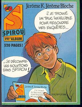 191 Journal de Spirou recueil