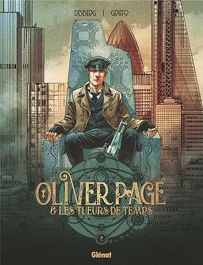 Oliver Page & Les Tueurs de Temps 1  Desberg Griffo