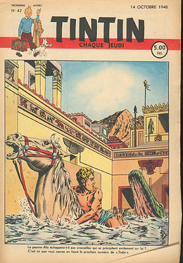 TINTIN 1948 n° 42